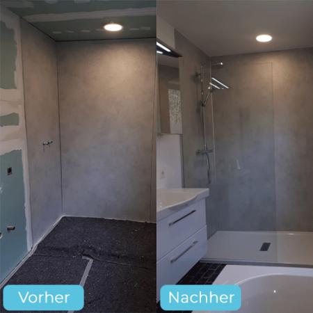 Renovierung Badezimmer Impression