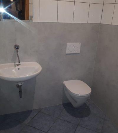 Neues WC nach Sanierung oder Renovierung